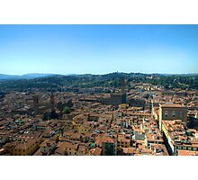 Florence High Photographic Print
