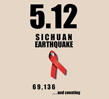 Sichuan Earthquake Relief Ribbon Unisex T-Shirt