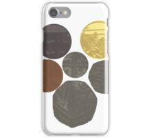 English Coins Shield iPhone Case/Skin