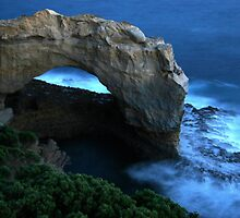 Moonlit Arch by Dave Law