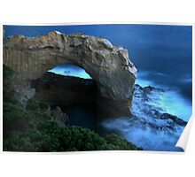 Moonlit Arch Poster