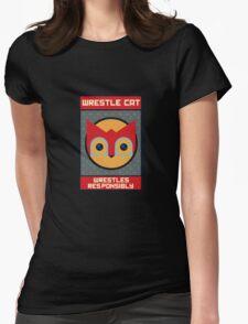 Wrestle Cat wrestles responsibly T-Shirt