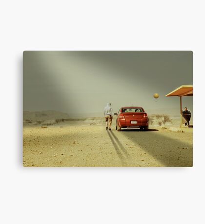 The Deal Canvas Print