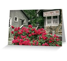 Mountain Roses Greeting Card