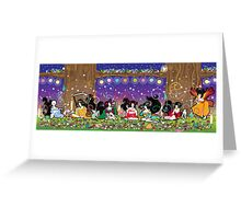 The Geisha Tea Party Greeting Card