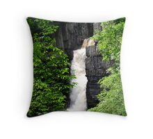 High Force, Middleton on Teesdale Throw Pillow