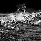 Boat Crew by Annette Blattman
