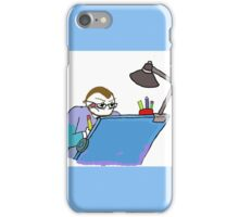 Steven Gibson At Work iPhone Case/Skin