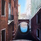 Venice canal by Carole Russell