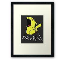 Pikaaa! Framed Print