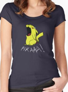 Pikaaa! Women's Fitted Scoop T-Shirt