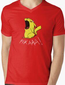 Pikaaa! Mens V-Neck T-Shirt