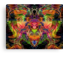 Flaming Crest Canvas Print