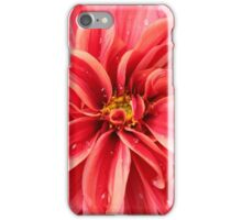 Water Droplet Dahlia iPhone Case/Skin