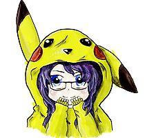 Pikachu Onesie Photographic Print