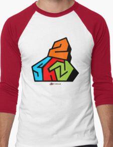 2shy colors Men's Baseball ¾ T-Shirt