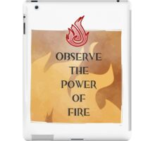 Fire Attunement iPad Case/Skin