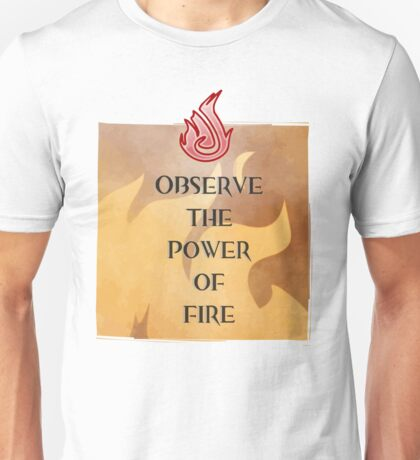 Fire Attunement Unisex T-Shirt