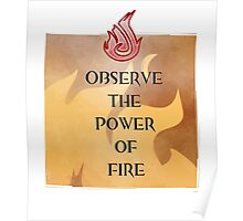 Fire Attunement Poster