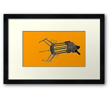 Zero point energy field manipulator Framed Print