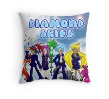Diamond Skies Throw Pillow