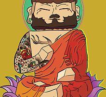 Gautama Buddha - Minecraft by VerticalSynapse