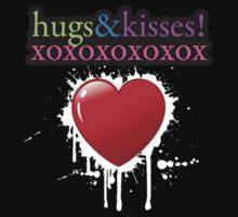 Hugs and Kisses xoxox by cogtees