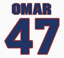 National baseball player Omar Olivares jersey 47 by imsport