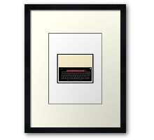 BBC Model B Framed Print