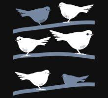 Birds in Moonlight Kids Tee