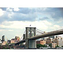 Bklyn Bridge Photographic Print