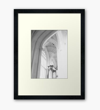 A Dance of Sound and Light Framed Print