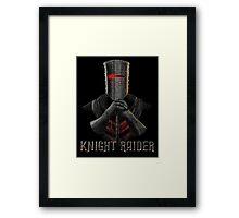 Knight Raider Framed Print