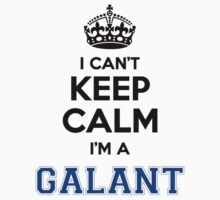I cant keep calm Im a GALANT by icant