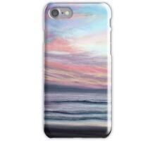 Sunset Beach Pastel iPhone Case/Skin