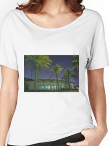 night photography Women's Relaxed Fit T-Shirt