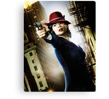 Agent Carter Canvas Print