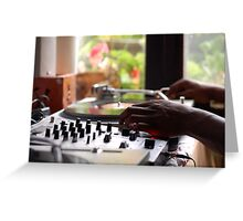 In the mix Greeting Card