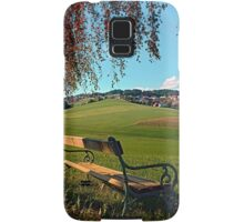 Bench under the tree | landscape photography Samsung Galaxy Case/Skin