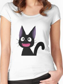Jiji - Kiki's Delivery Service Women's Fitted Scoop T-Shirt