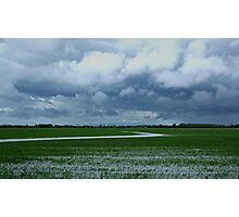 Wet day On The Prairies Photographic Print