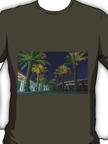 PALM TREES AT NIGHT T-Shirt
