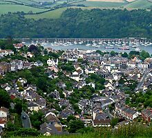 View over Dartmouth by Peter Rivron