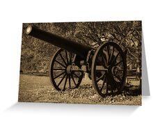 Civil War Iron Greeting Card