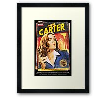 Agent Carter Short Poster Framed Print
