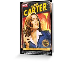 Agent Carter Short Poster Greeting Card