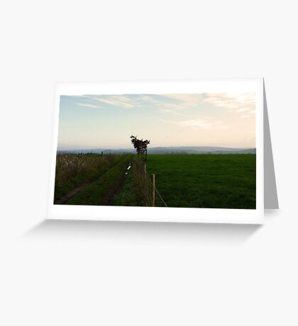 Classic countryside Greeting Card
