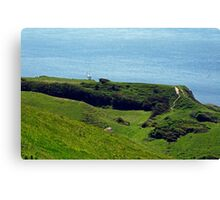 St Catherine's Point from Gore Cliff Canvas Print