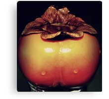 Sumptuous persimmon Canvas Print