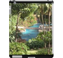 jungle pool iPad Case/Skin